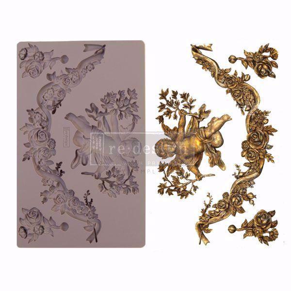 Re-Design with Prima Divine Floral silikone Form - 645403