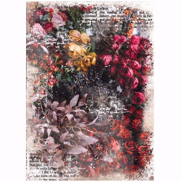Re-Design with Prima - Iva - 48,3 x 76,2 cm Mulberry Tissue Paper til decoupage scrapbooking og kort - 644680
