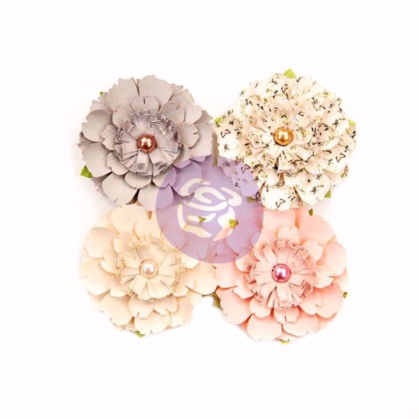 Spring Farmhouse Flowers  design blomster fra Prima Marketing til Mix Media, scrapbooking og kort -  637989 Heart & Home
