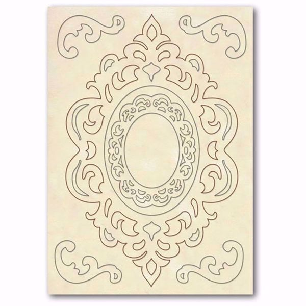 Dekorations Rammer af træ fra Stamperia - KLSP023