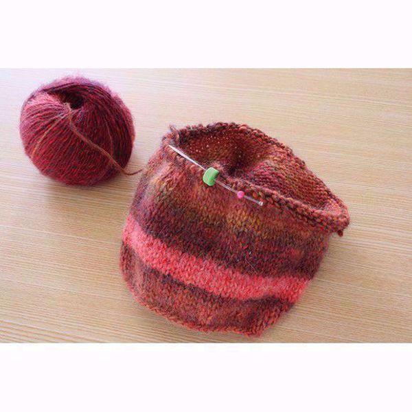 Clover circular stich holder til overføring af masker, som skal i hvil, eller hvis du bare skal bruge strikkepinden andet sted.