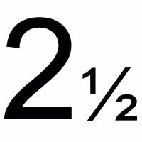 2½ mm