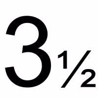 3½ mm