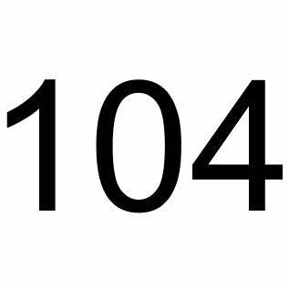 104 ppsi [+40,00 DKK]