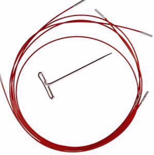 ChiaoGoo Twist Red Cable - Wirer til udskiftbare strikkepinde