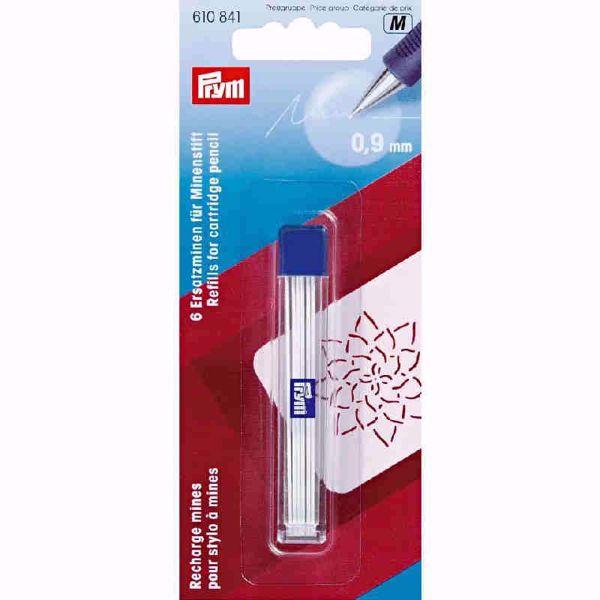 Hvide kridtstifter til Prym Love - 0,9 mm stiftblyant - Skrædderkridt