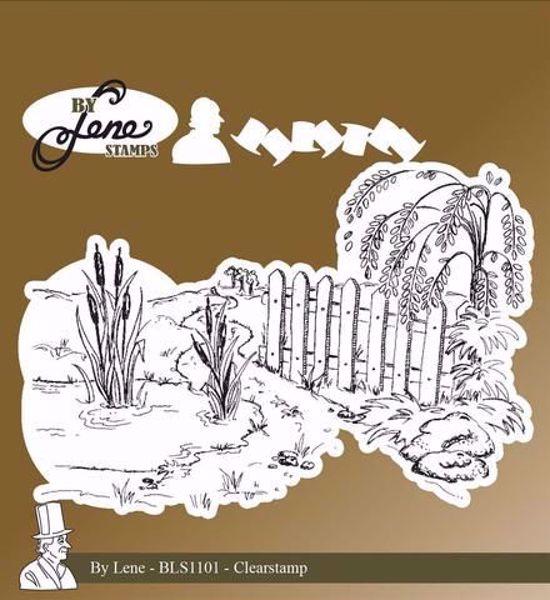 By Lene Stempler - Andedam fra H. C. Andersen - BLS1101 - Silikone Stempel til scrapbooking og kort