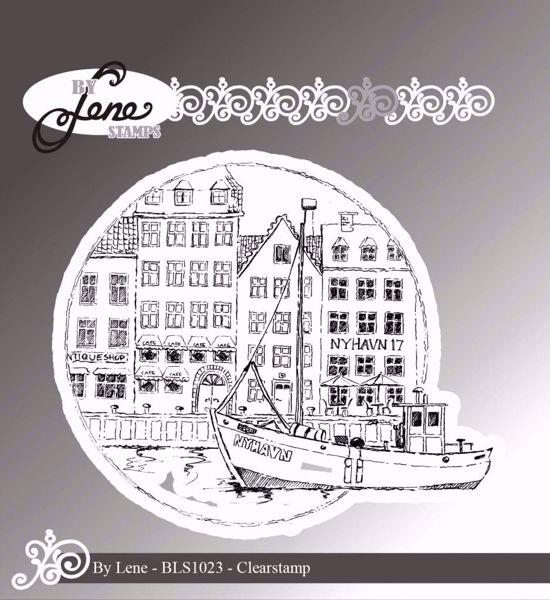 By Lene Stempler - Nyhavn - BLS1023 - Silikone Stempel til scrapbooking og kort