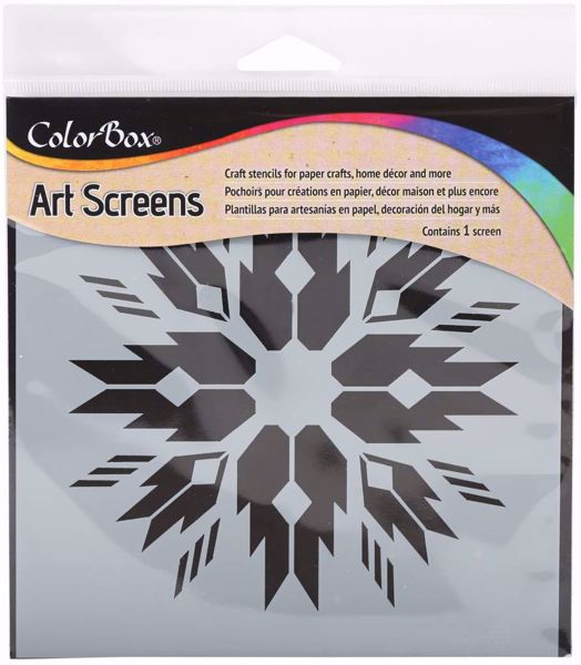 ColorBox Art Screens Native Stencil 15 x 15 cm mask, stencil fra Clearsnap