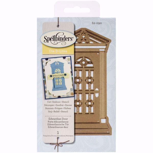 Spellbinders dies D-Lites - Edwardian Door S2-090