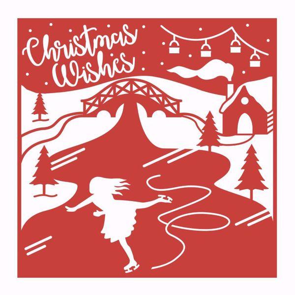 Christmas Wishes die - FEDIE263X18 - dies standsejern og embossing til scrapbooking og kort