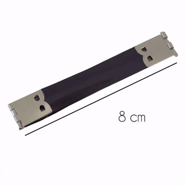 Smæk bøjler til punge- og taskesyning 8 cm bredde