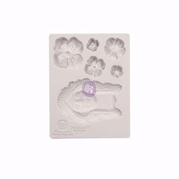 Finnabair Prima Marketing - Flower Queen - silikone Form - 966607
