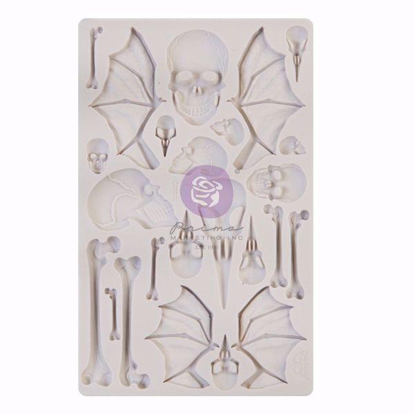 Re-Design with Prima Imaginarium Wings and Bones silikone Form - 968625