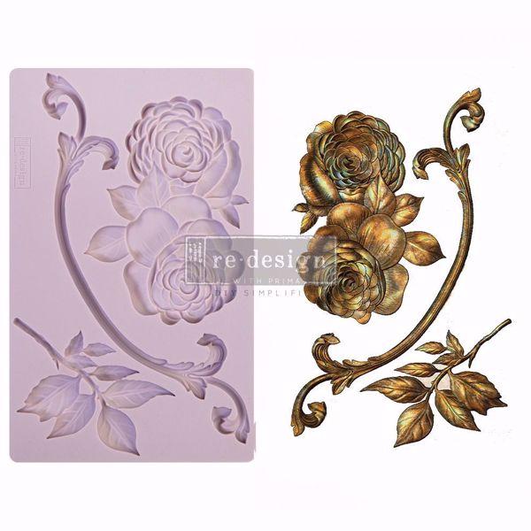 Re-Design with Prima Victorian Rose silikone Form - 648152