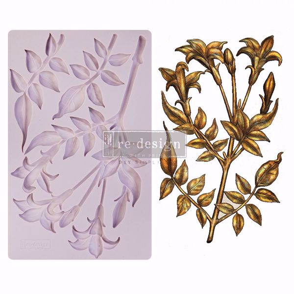Re-Design with Prima Lily Flowers - silikone Form - 650483