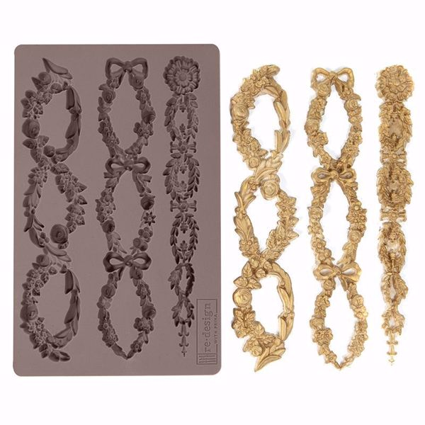 Re-Design with Prima Floral Chain silikone Form - 636418